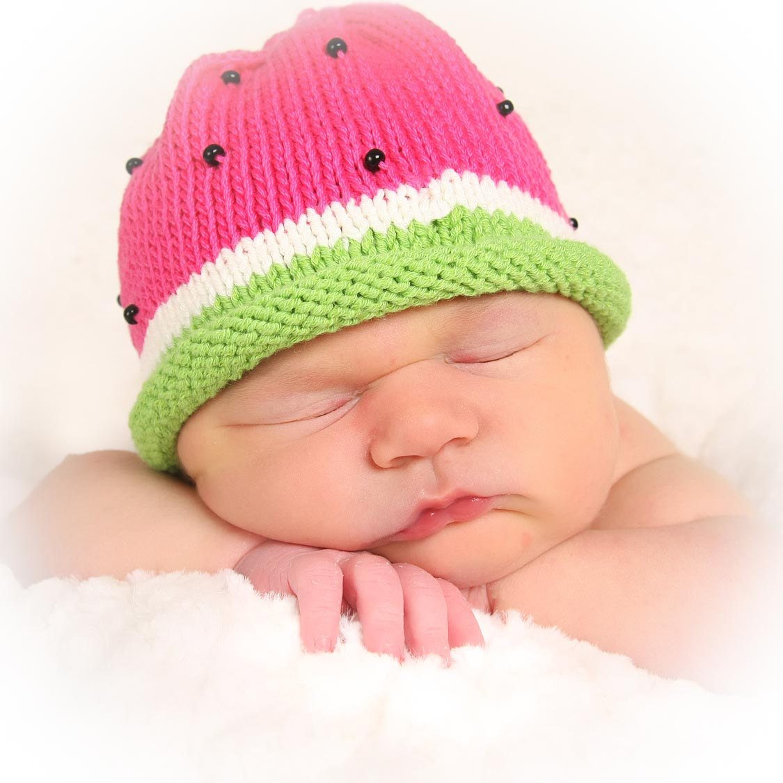 Good Knit Stitches For Hats : LOOM KNIT ELF & WATERMELON HAT PATTERNS This Moment is Good