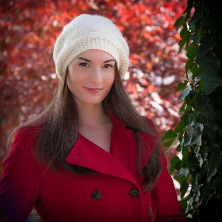 Loom knit beret PATTERN, winter, trendy, hat, tam, toddler, child, teen/adult