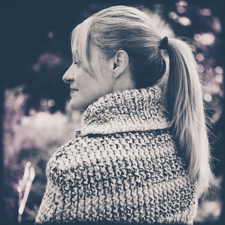Loom Knit Cape, Capelet, Poncho PATTERN