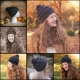 Loom Knit Bulky Hat Patterns, 5 Patterns Included.