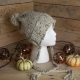 Loom Knit Earflap Hat PATTERN, Split Brim Hat, Bulky, Chunky Knit, Tassels, Brai