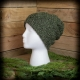 Loom Knit Men's Hat Pattern, Pinecone Stitch, Ski Cap, Tweed, Unisex, Winter, PD