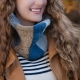 Loom Knit Cowl PATTERN, Scarf, Neckwarmer, Unisex, Double Thick, Chunky, Cowl PD