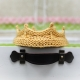 Loom Knit Crown Headband Pattern For Newborns/Babies.