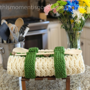 Loom Knit Casserole Carrier PATTERN! Great gift to make for the cook in the family! PATTERN ONLY! Available for instant download.